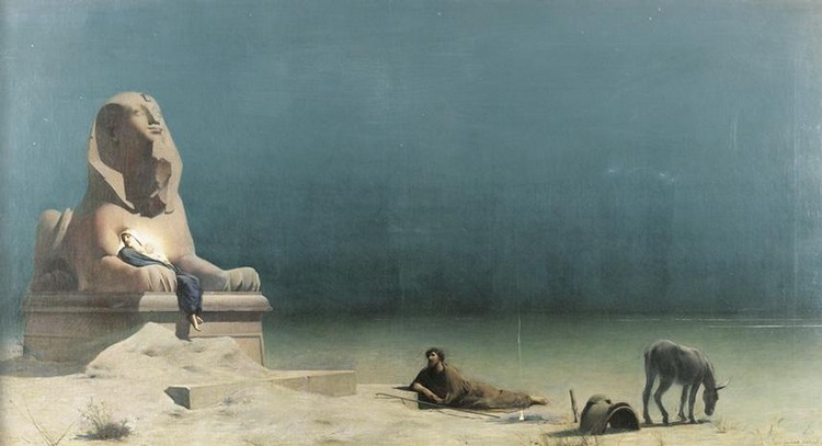 LUC-OLIVIER MERSON PARIS 1846 - ? 1920