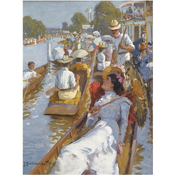 John Sanderson Wells R.B.A., R.I. , British active 1872-1943 