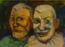 WALT KUHN | Two Clowns