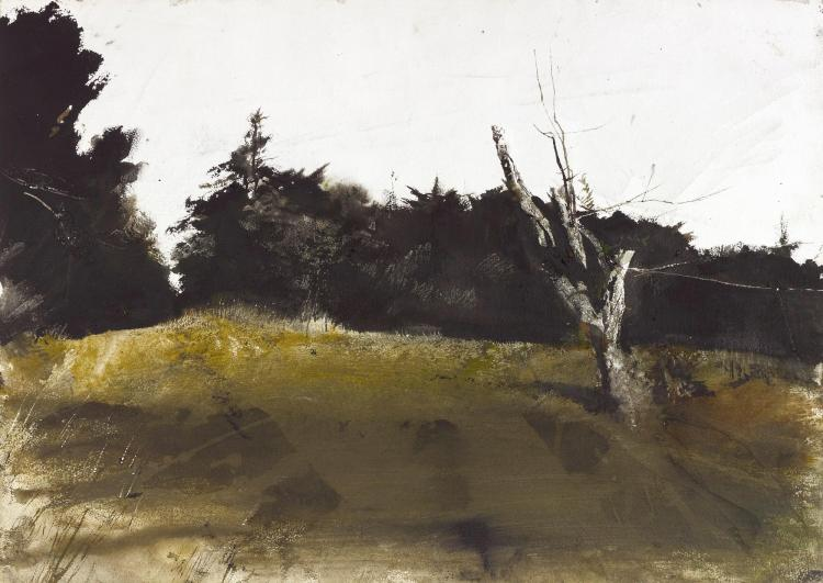 ANDREW WYETH | Orchard Knoll