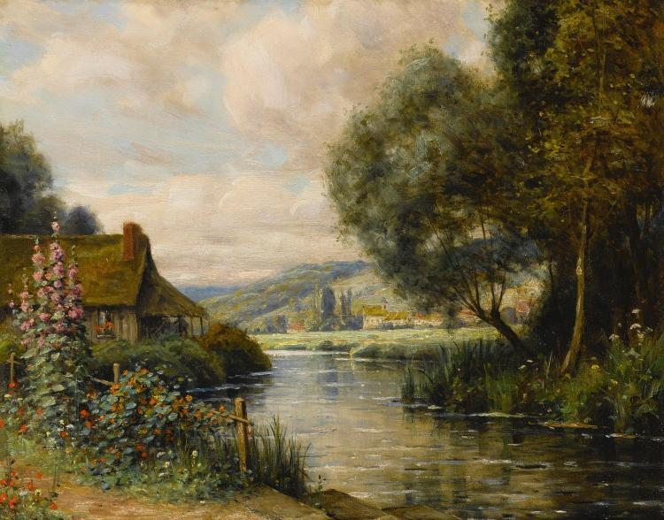 LOUIS ASTON KNIGHT | Cottage at Launay