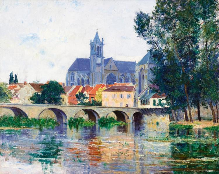 WILLIAM LAMB PICKNELL | Moret-Sur-Loing