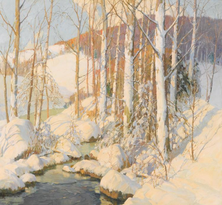 FREDERICK JOHN MULHAUPT | Winter Calm