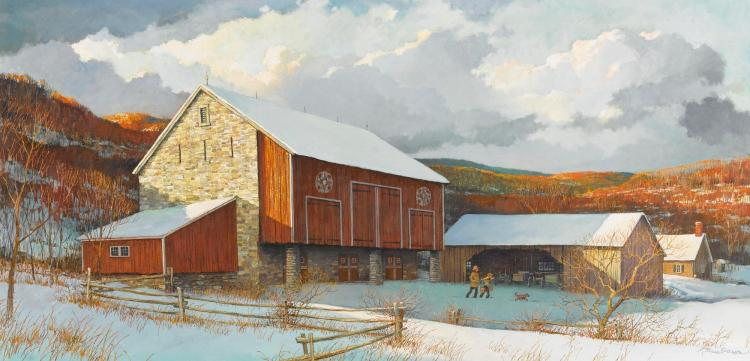 ERIC SLOANE | Pennsylvania Dutch Barn