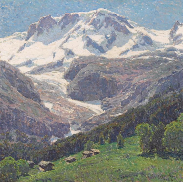 EDGAR ALWIN PAYNE | The High Alps