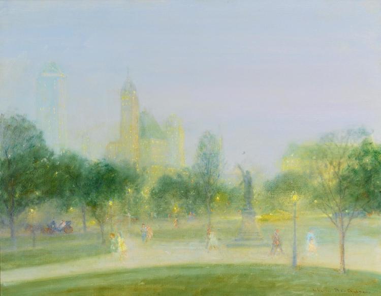 JOHANN BERTHELSEN | Early Evening, Central Park