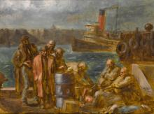 REGINALD MARSH | On the Hudson