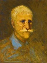 GEORGE BENJAMIN LUKS | Portrait of Maurice Prendergast