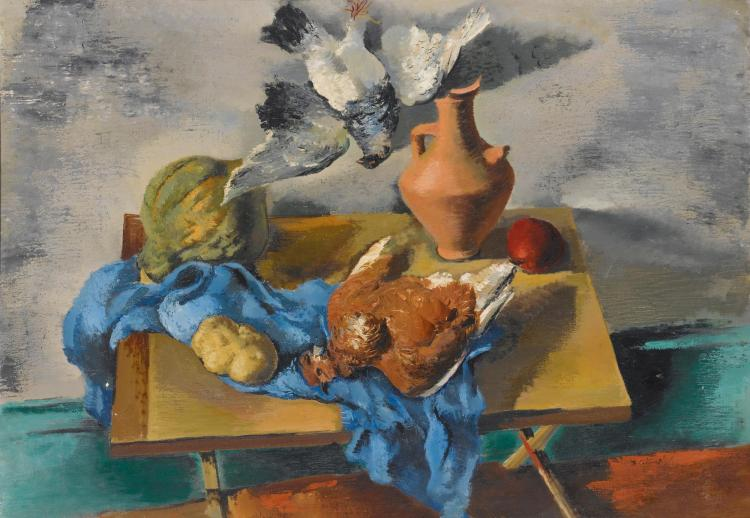NICOLAI CIKOVSKY | Still Life Pigeons