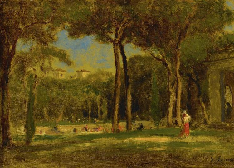 GEORGE INNESS | Barberini Villa