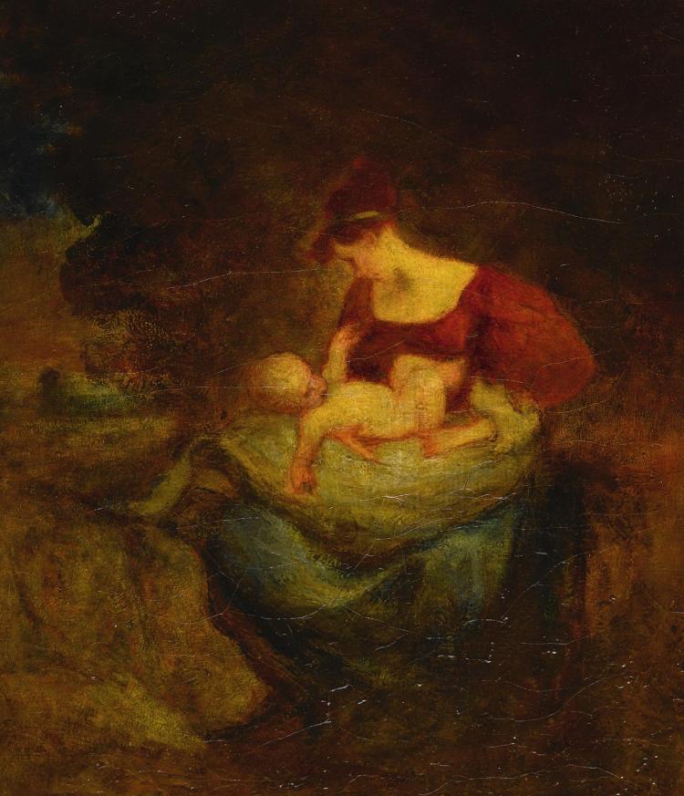 ROBERT LOFTIN NEWMAN | Mother and Child