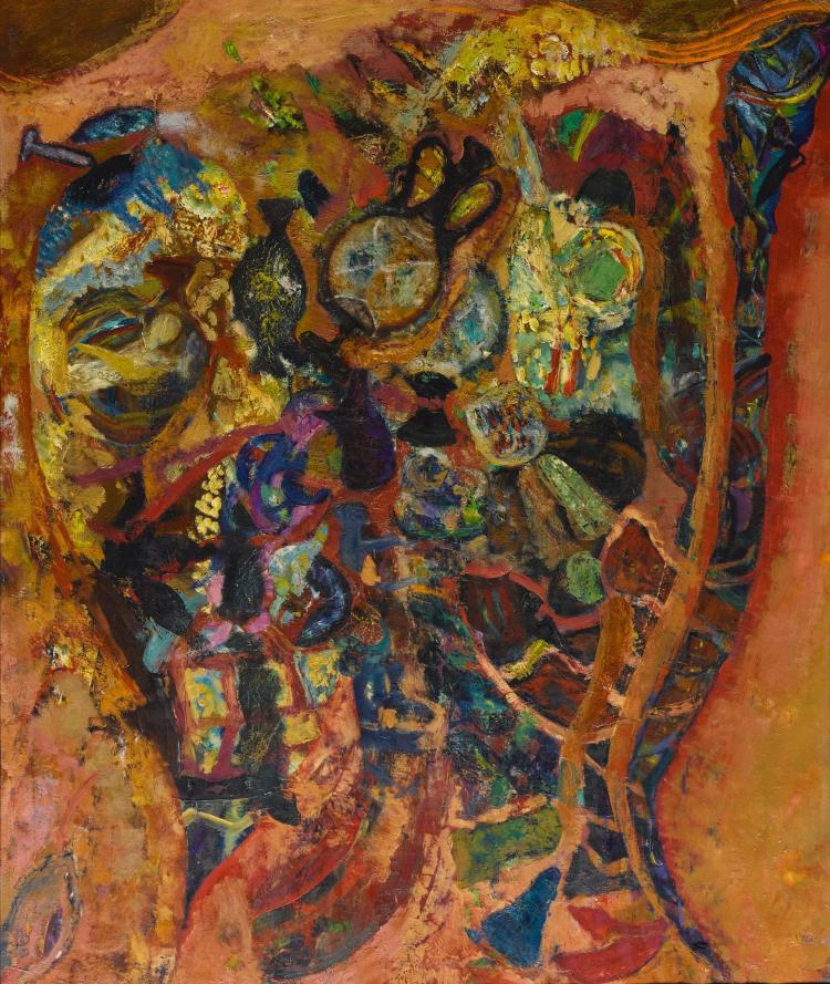 HYMAN BLOOM | Archaeological Treasure