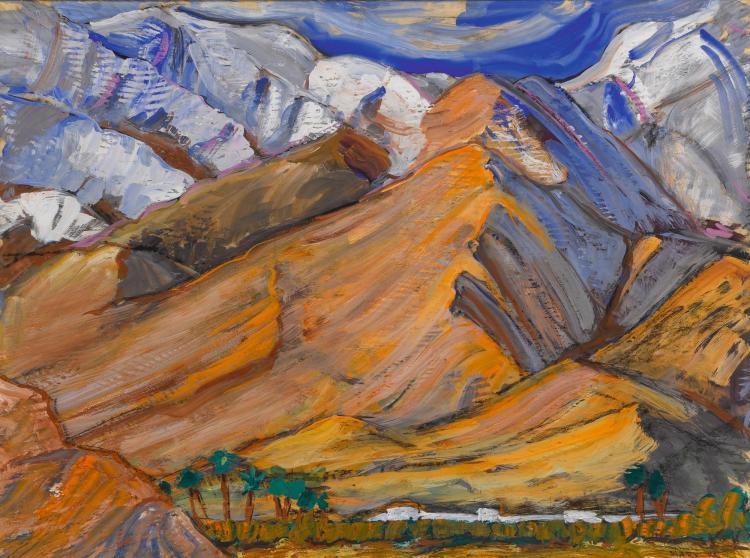 SAMUEL A. MARX | Mountain Landscape