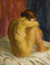 JOHN SLOAN | Nude Glancing Back