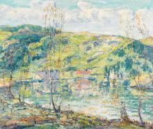 ERNEST LAWSON | Reflections of Spring