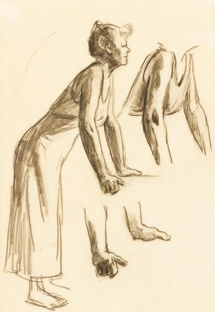 EDWARD HOPPER | Figure Study for