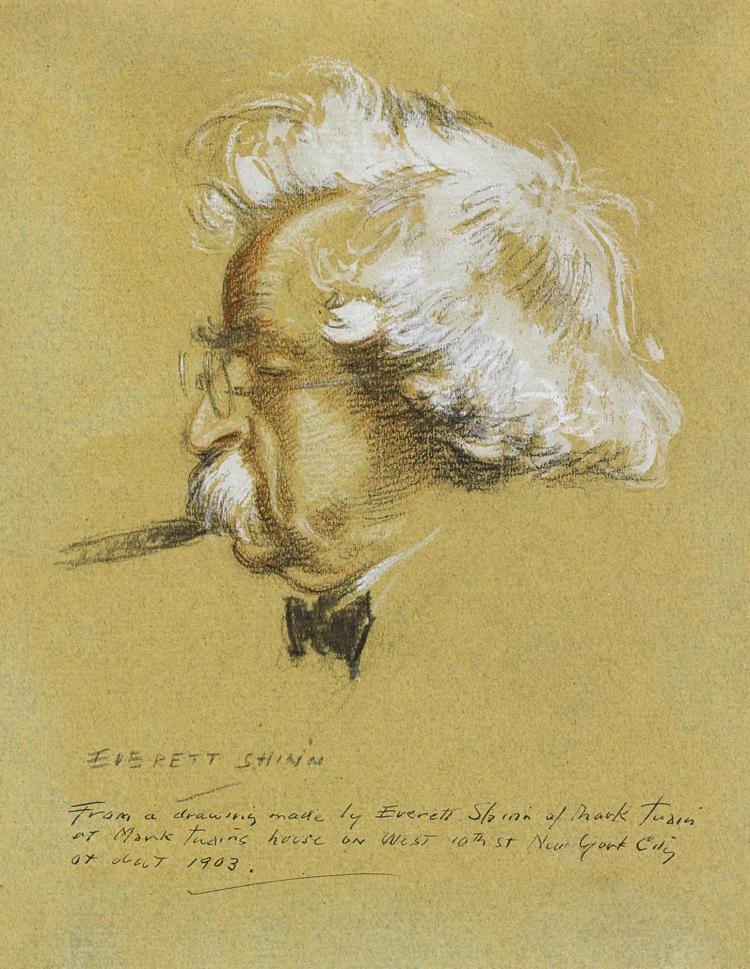 EVERETT SHINN | Mark Twain
