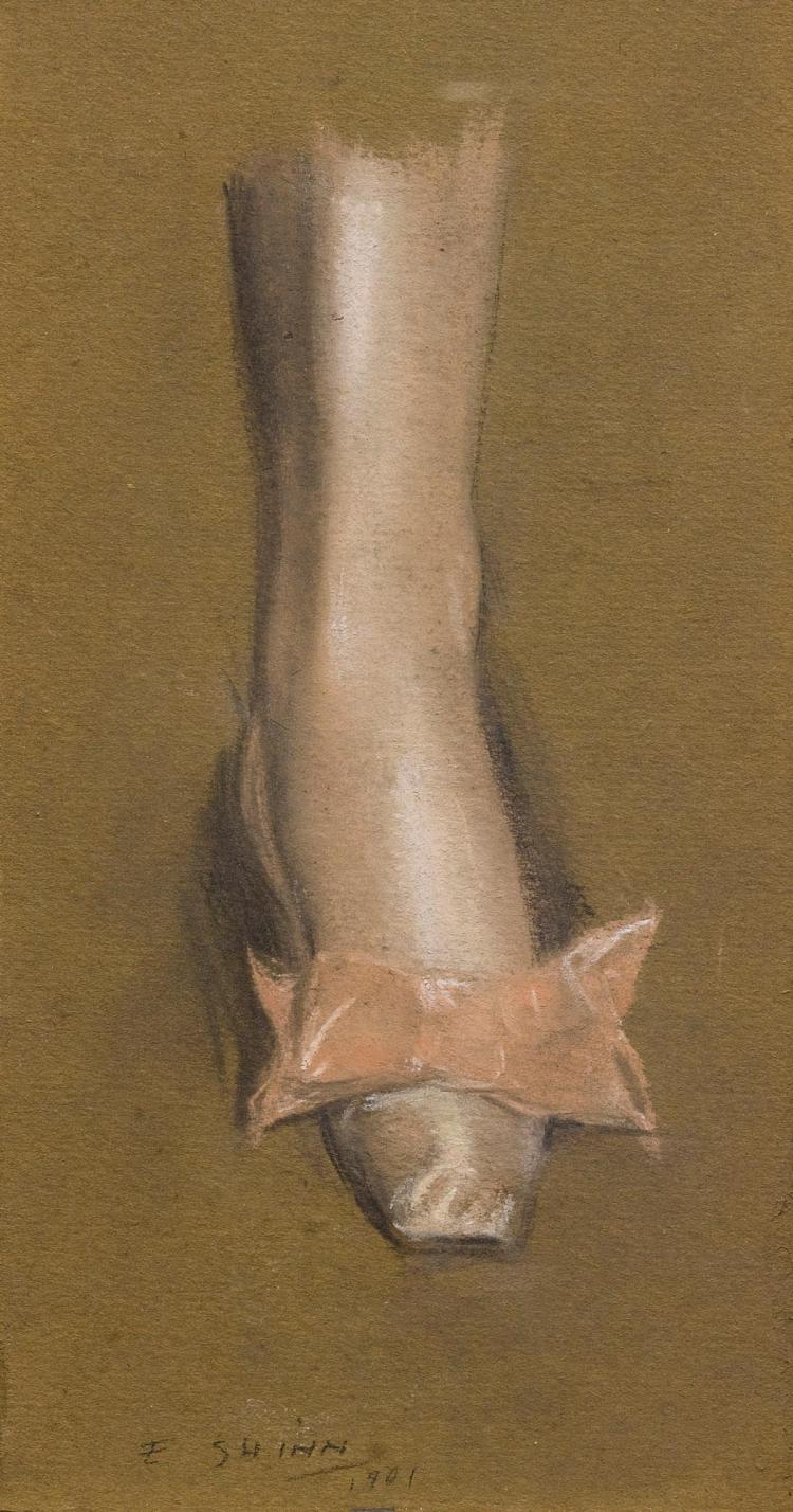 EVERETT SHINN | Ballet Slipper