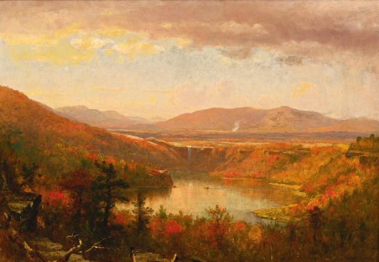 THOMAS WORTHINGTON WHITTREDGE | View of Kaaterskill Falls