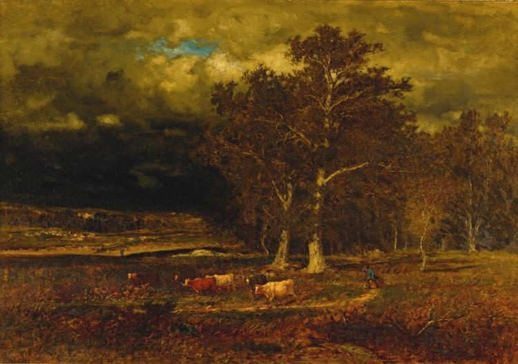 GEORGE INNESS | The Approaching Storm