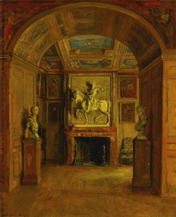 WALTER GAY | Salle Henri IV, Palais De Fontainebleau