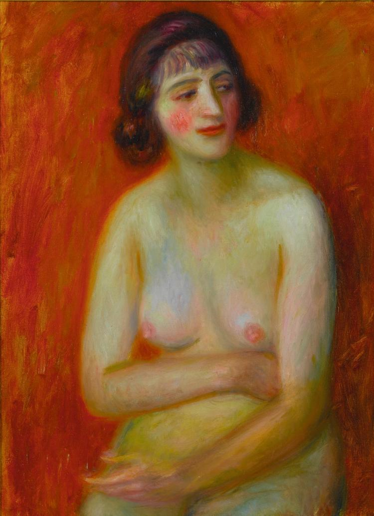 WILLIAM JAMES GLACKENS | Seated Nude