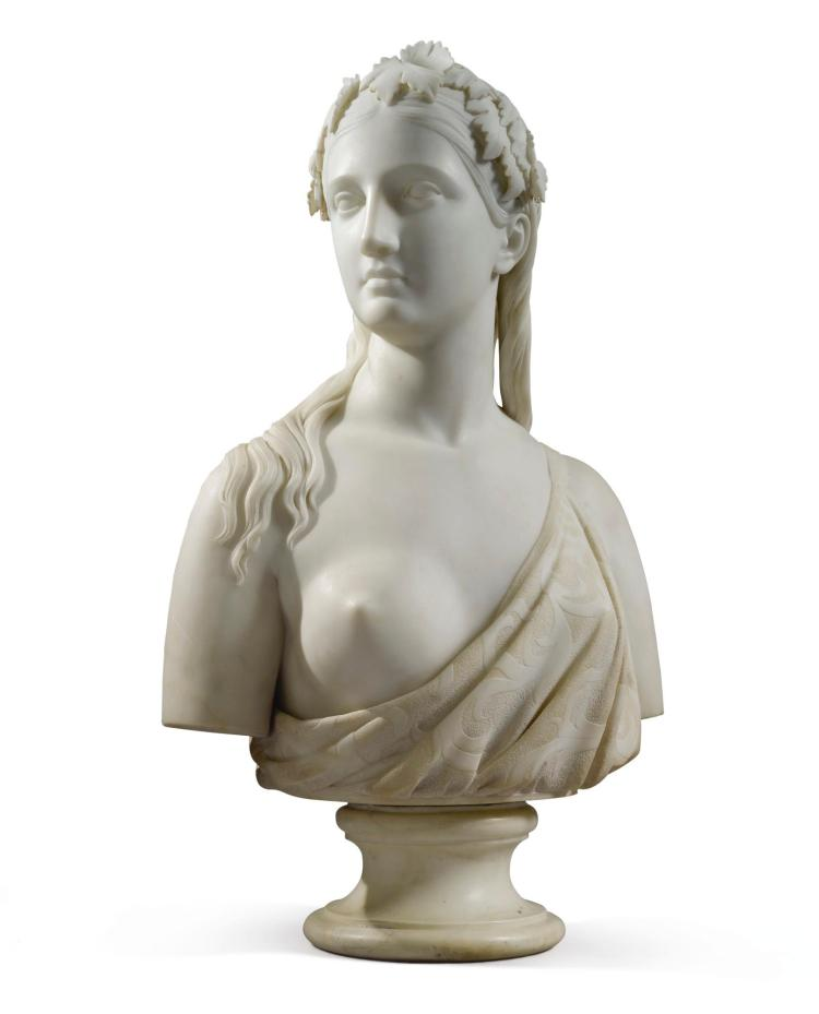CHAUNCEY BRADLEY IVES | Bust of a Woman