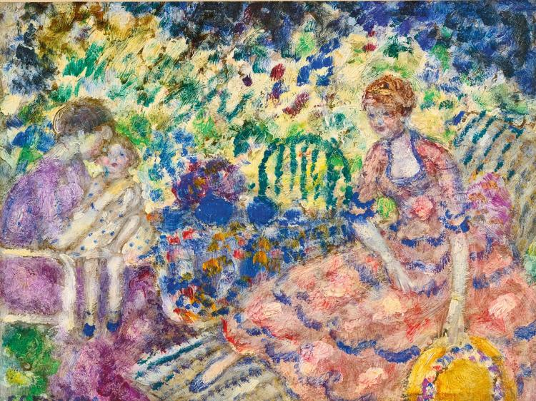 FREDERICK CARL FRIESEKE | Study for