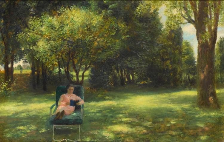 JOHN KOCH | Rest in the Garden
