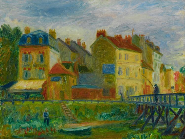 WILLIAM JAMES GLACKENS | Samois-sur-Seine