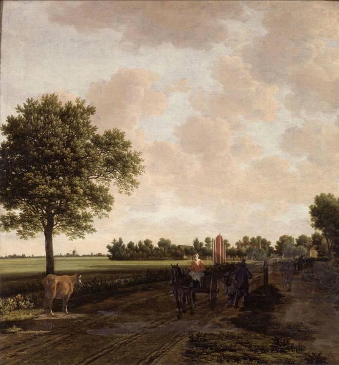 *JORIS VAN DER HAGEN (CIRCA 1615-1669)