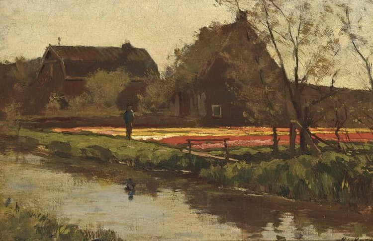 ANTONIE LODEWIJK KOSTER DUTCH, 1859-1937