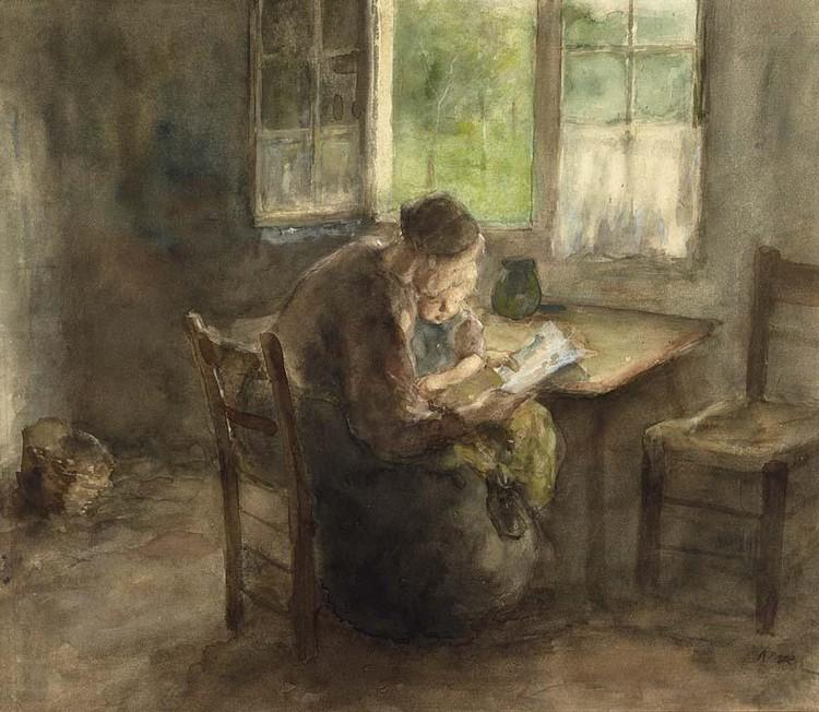 JACOB SIMON HENDRIK KEVER DUTCH, 1854-1922