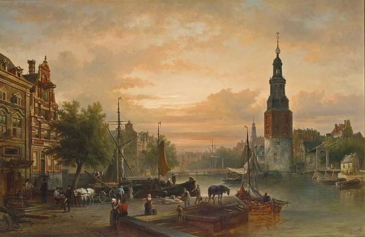 f - ELIAS PIETER VAN BOMMEL DUTCH, 1819-1890