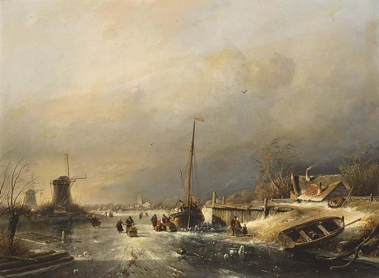 f - CHARLES LEICKERT DUTCH, 1816-1907