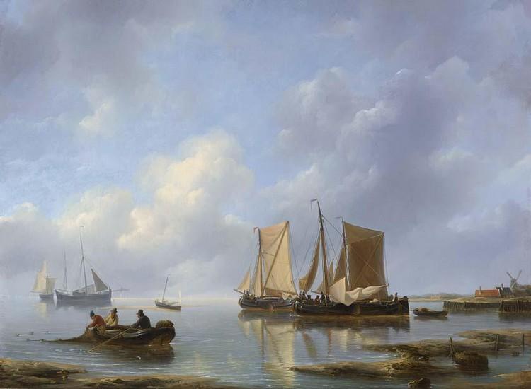 PETRUS JOHANNES SCHOTEL DUTCH, 1808-1865