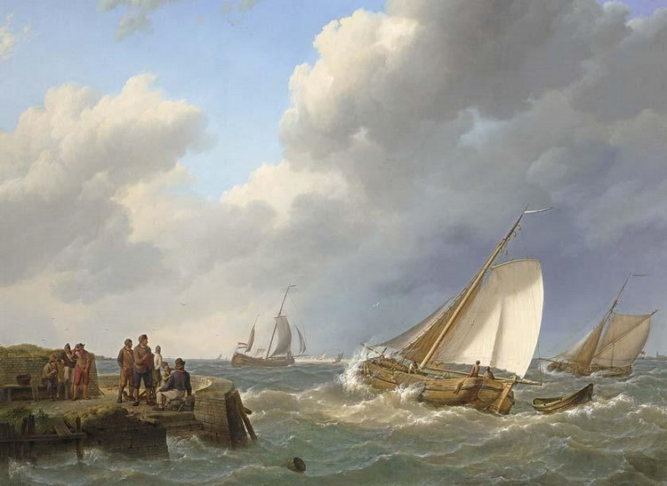 JOHANNES HERMANUS KOEKKOEK DUTCH, 1778-1851