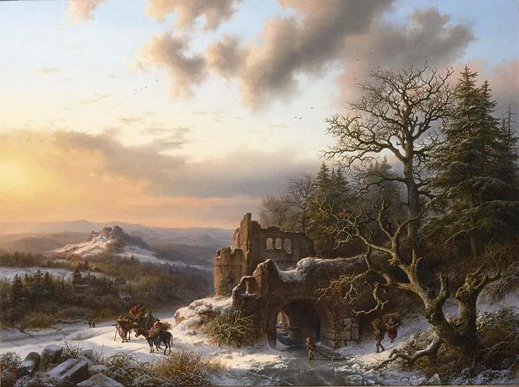 BAREND CORNELIS KOEKKOEK DUTCH, 1803-1862
