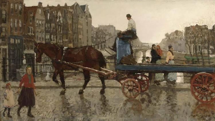 GEORGE HENDRIK BREITNER DUTCH, 1857-1923