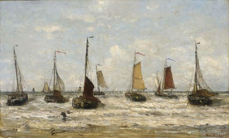 HENDRIK WILLEM MESDAG DUTCH, 1831-1915