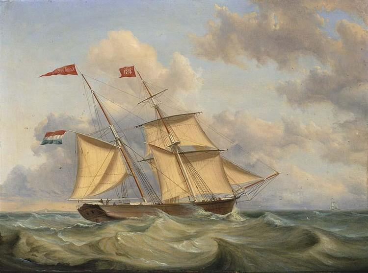 CASPARUS JOHANNES MOREL DUTCH, 1798-1861