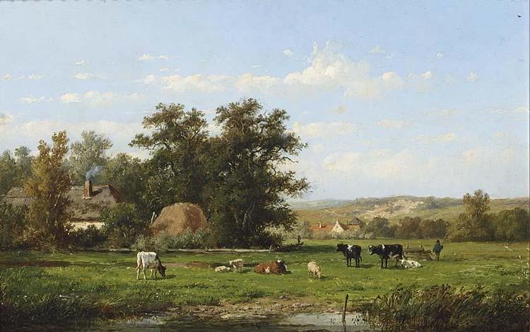 ANTHONIE JACOBUS VAN WIJNGAERDT DUTCH, 1808-1887