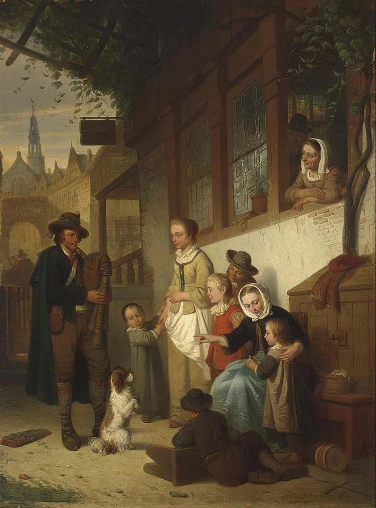 ADRIEN FERDINAND DE BRAEKELEER BELGIAN, 1818-1904