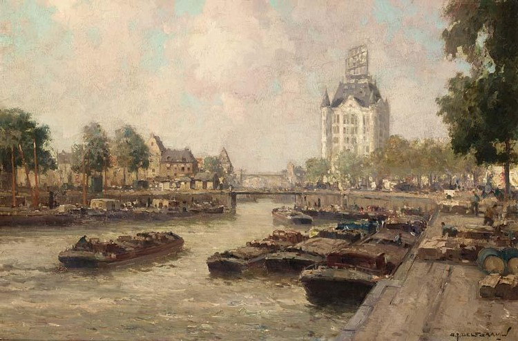 GERARDUS JOHANNES DELFGAAUW DUTCH, 1882-1947