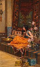 JOHN WILLIAM WATERHOUSE, R.A., R.I. | In the Harem
