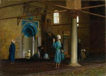 JEAN-LÉON GÉRÔME | At Prayer, Cairo