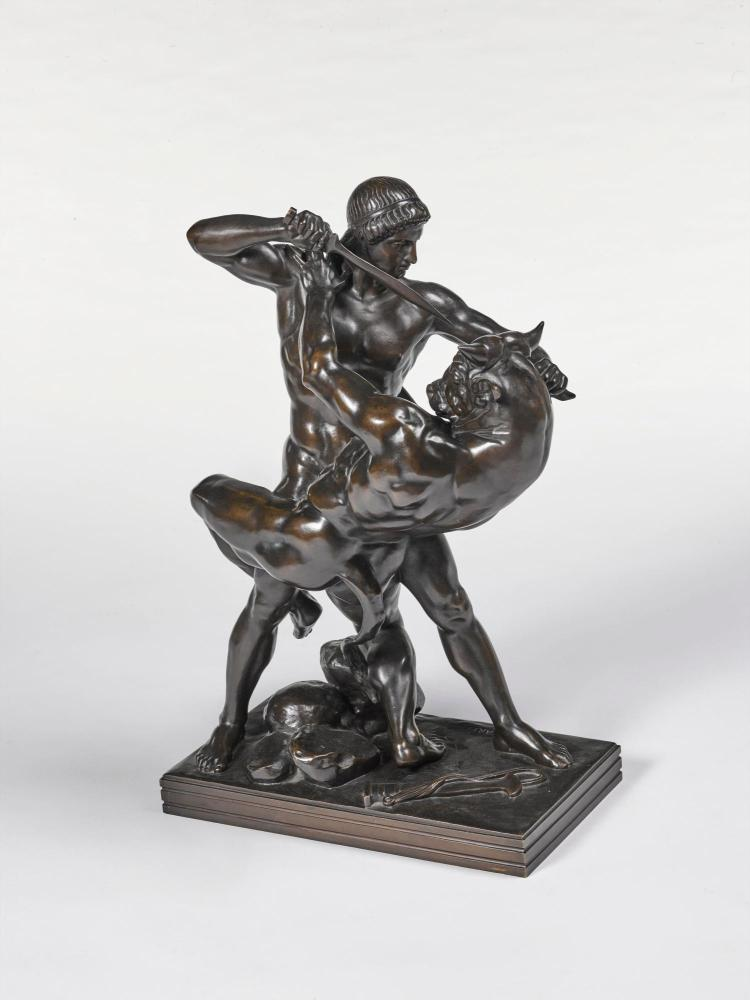 theseus and the minotaur by antoine louis barye essay Antoine-louis barye's 'theseus slaying the minotaur' is licensed under cc by- nc 20 theseus and the minotaur by e2bnorg 2006 in ancient greece.