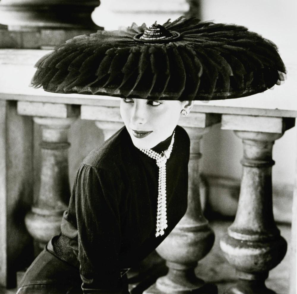 NORMAN PARKINSON   Le Groux Soeurs Hat, Vogue, 1952