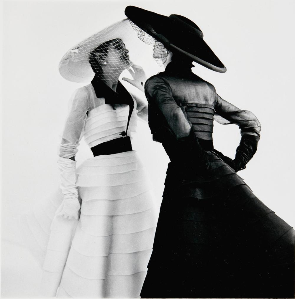 NORMAN PARKINSON | Organdie Dresses by Jacques Fath, 1952