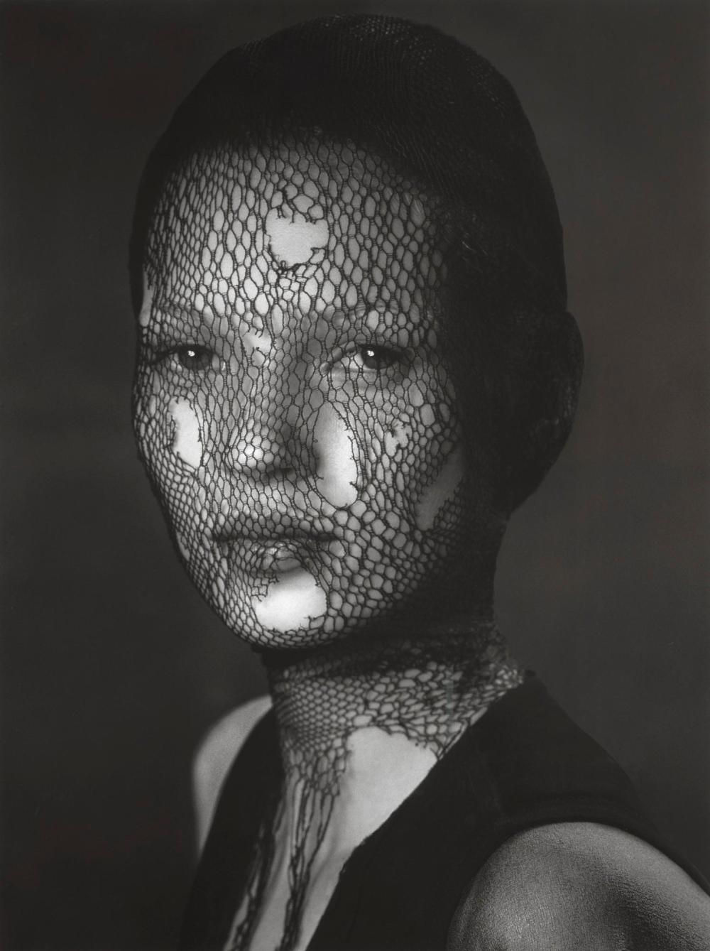 ALBERT WATSON | Kate Moss in Torn Veil, Marrakech, 1993